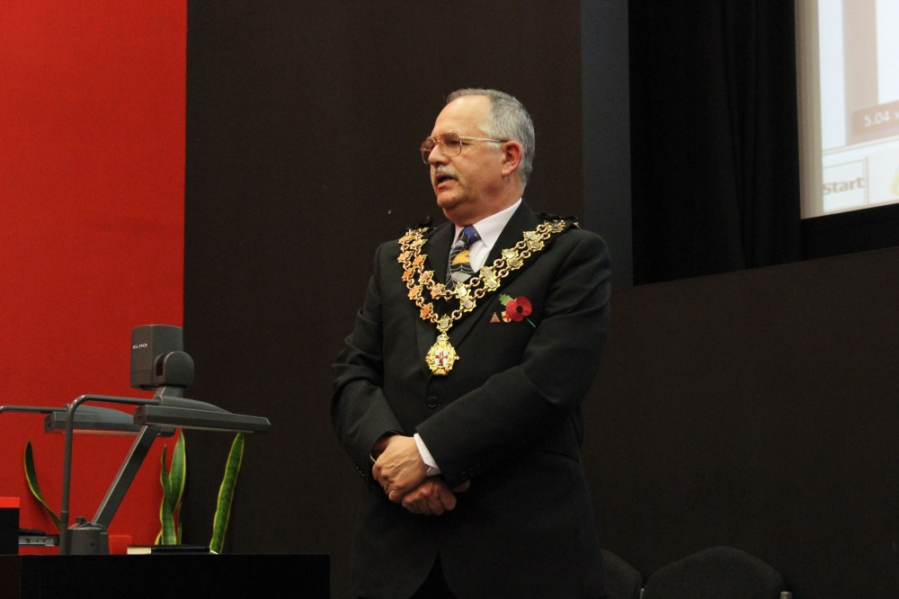 City Sheriff of Lincoln, Mr Graham Kent